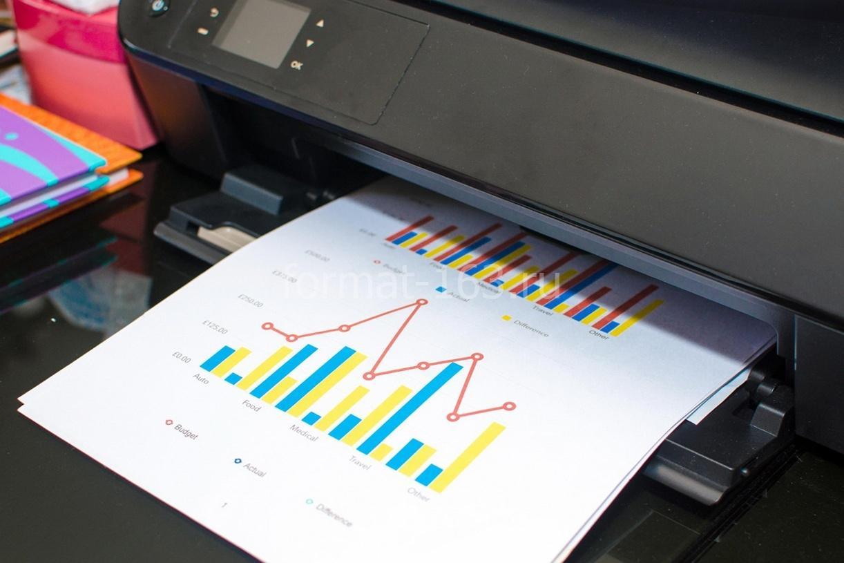 Печать и копирование документов в Тольятти